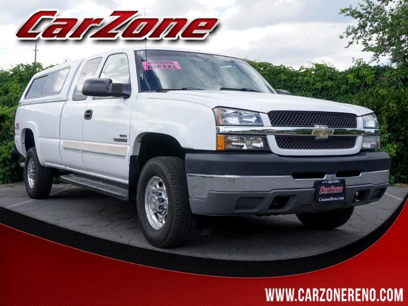 "2003 Chevrolet Silverado 2500HD Ext Cab 157.5"" WB 4WD LS"