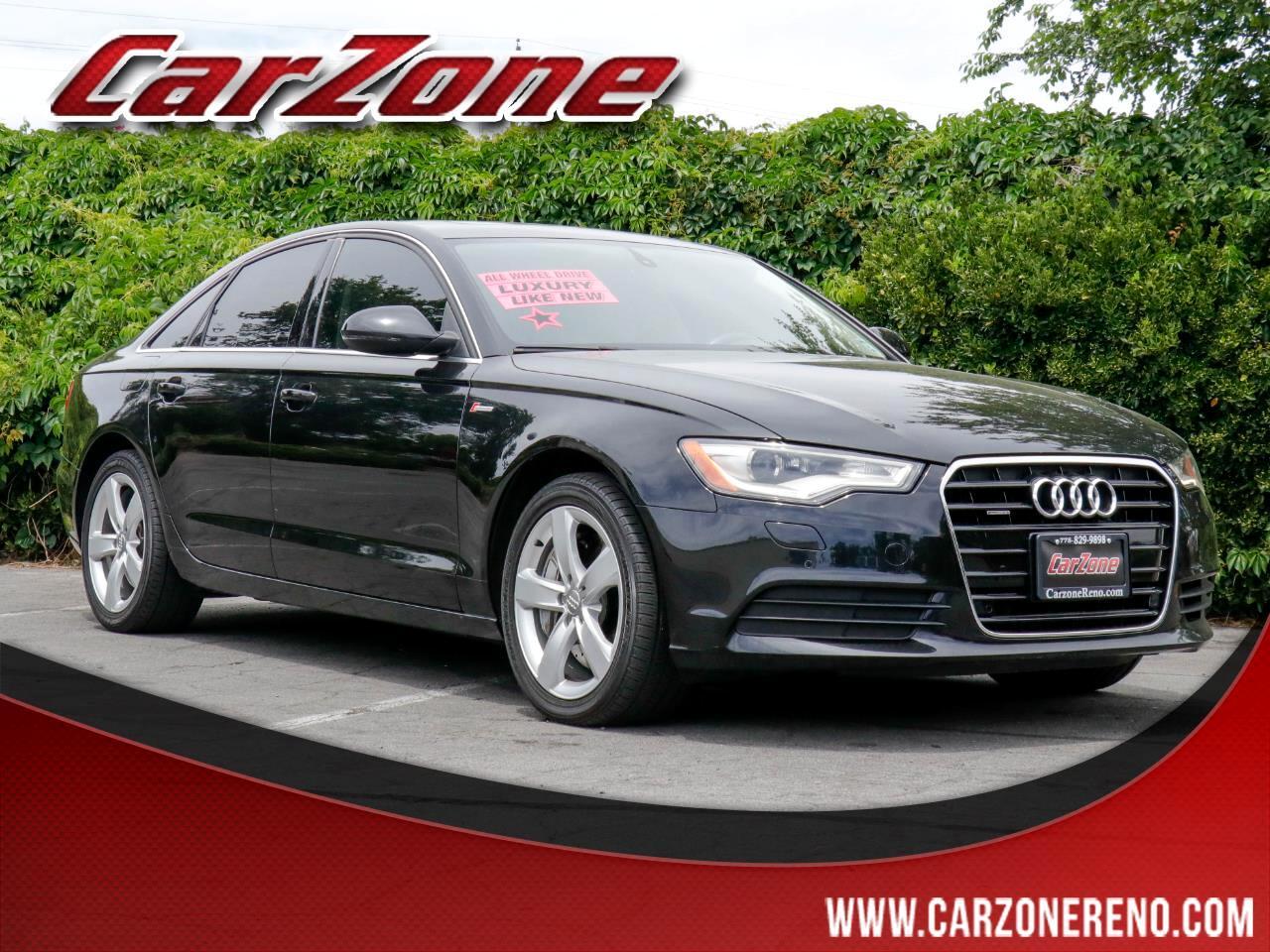 2012 Audi A6 4dr Sdn quattro 3.0T Premium Plus