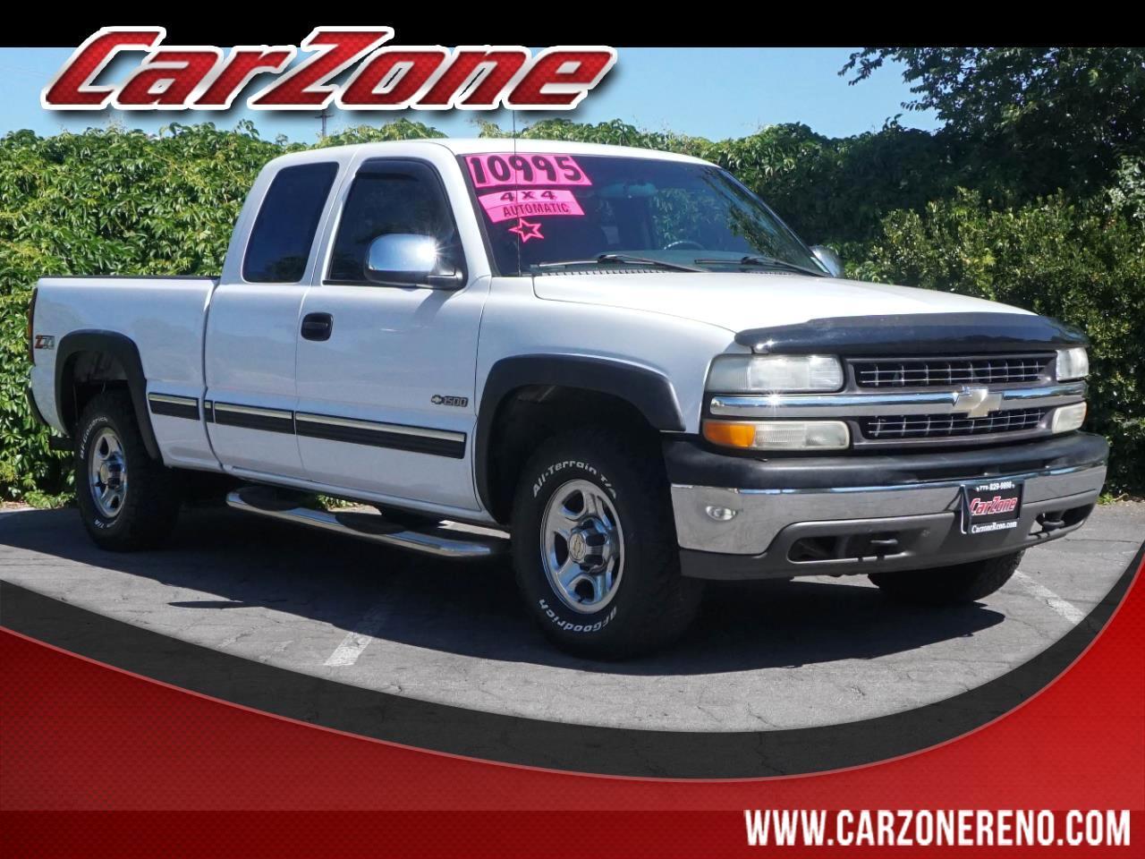 """2002 Chevrolet Silverado 1500 Ext Cab 143.5"""" WB 4WD LS"""