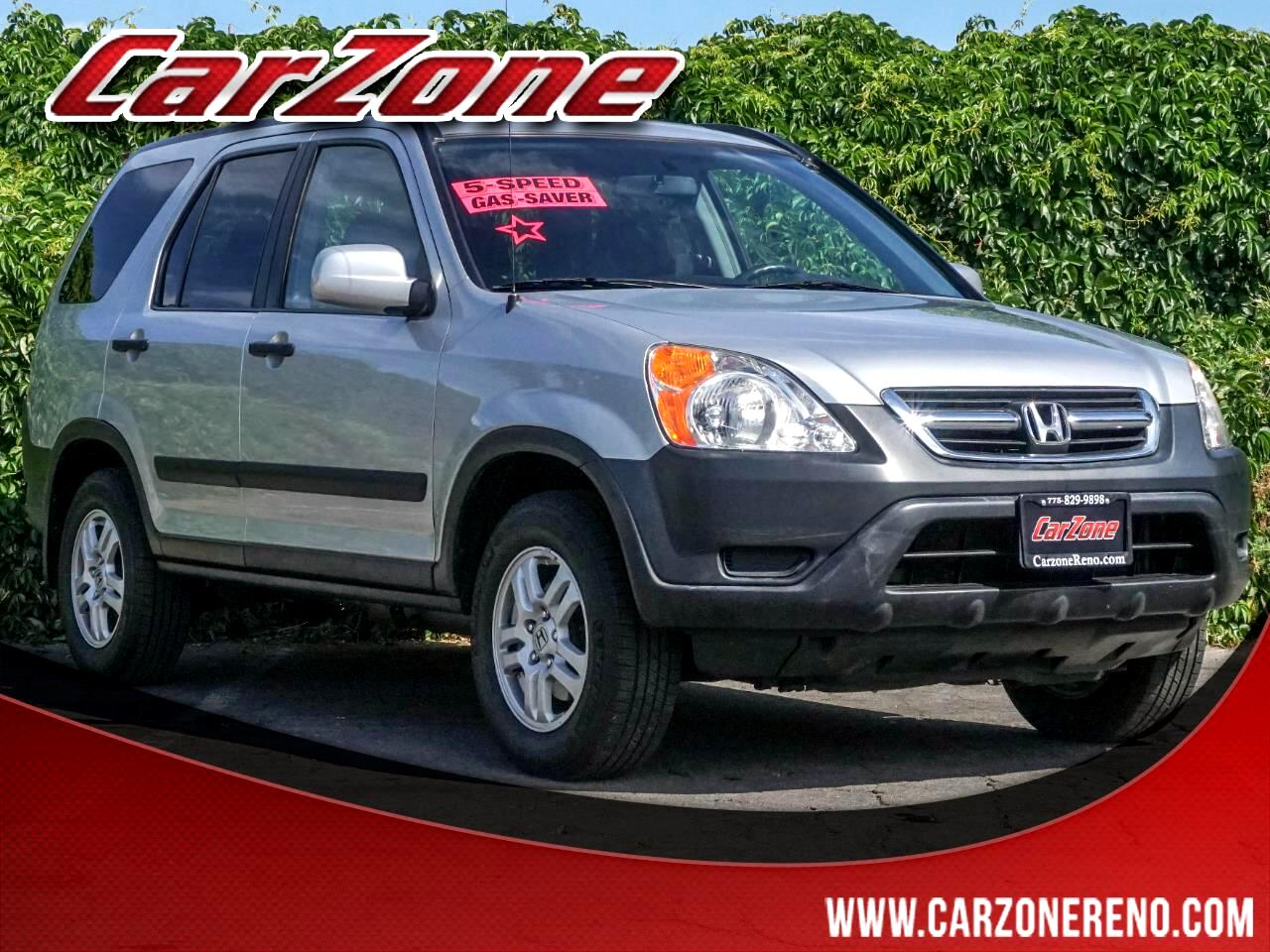 2003 Honda CR-V 4WD EX Manual