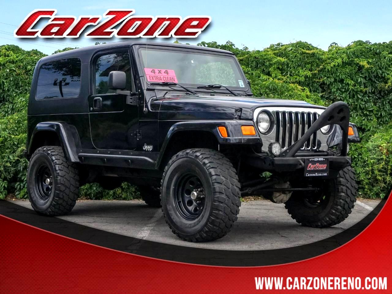 Jeep Wrangler 2dr Unlimited LWB 2006