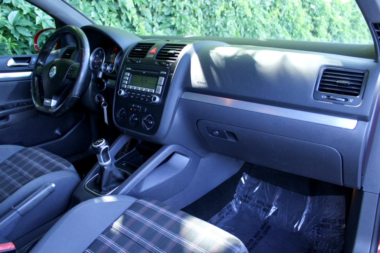Volkswagen GTI 4dr HB Man 2008