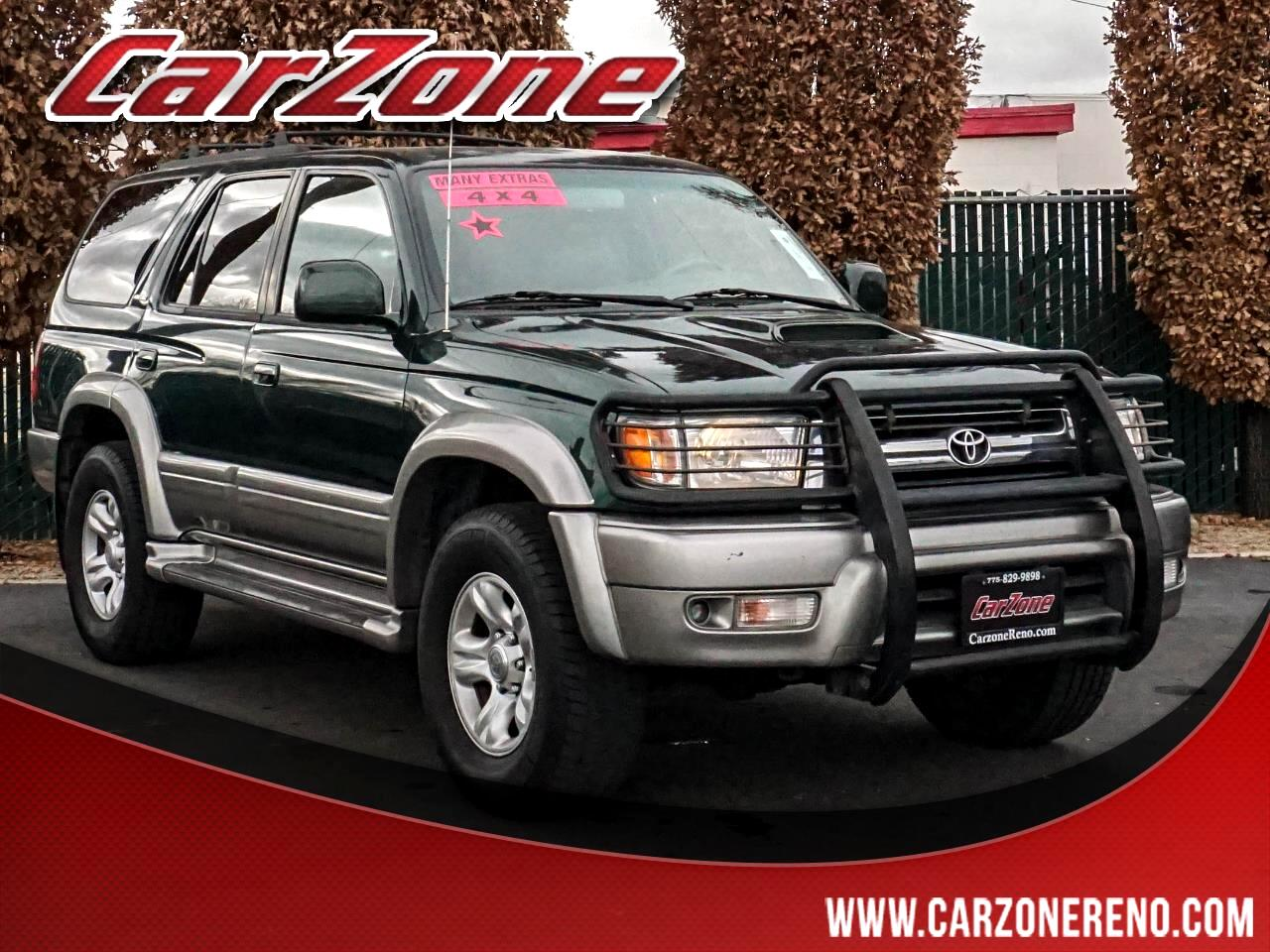 Toyota 4Runner 4dr Limited 3.4L Auto 4WD (Natl) 2001