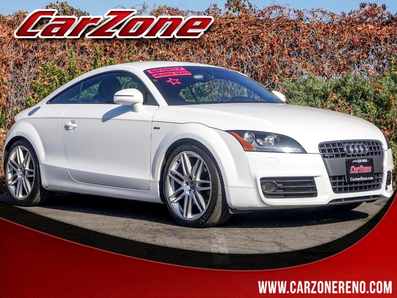 2010 Audi TT 2dr Cpe S tronic quattro 2.0T Premium Plus