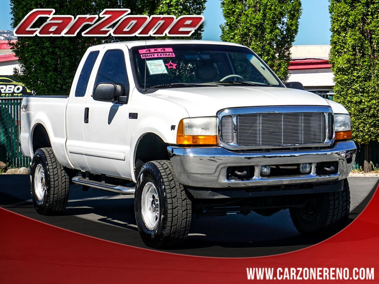 """Ford Super Duty F-250 Supercab 142"""" Lariat 4WD 2001"""