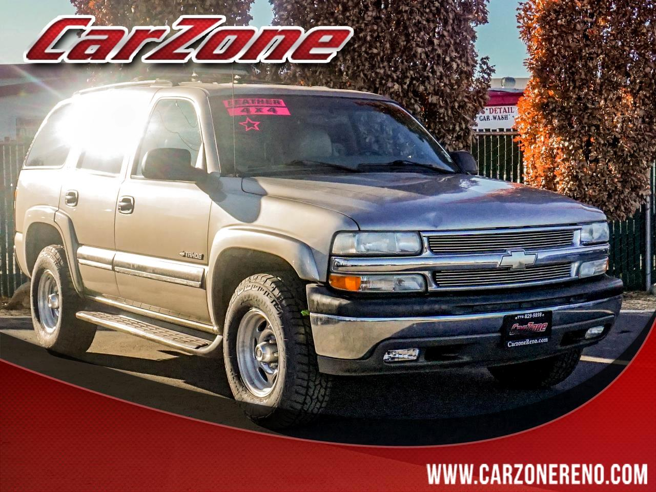 Chevrolet Tahoe 4dr 1500 4WD LS 2002