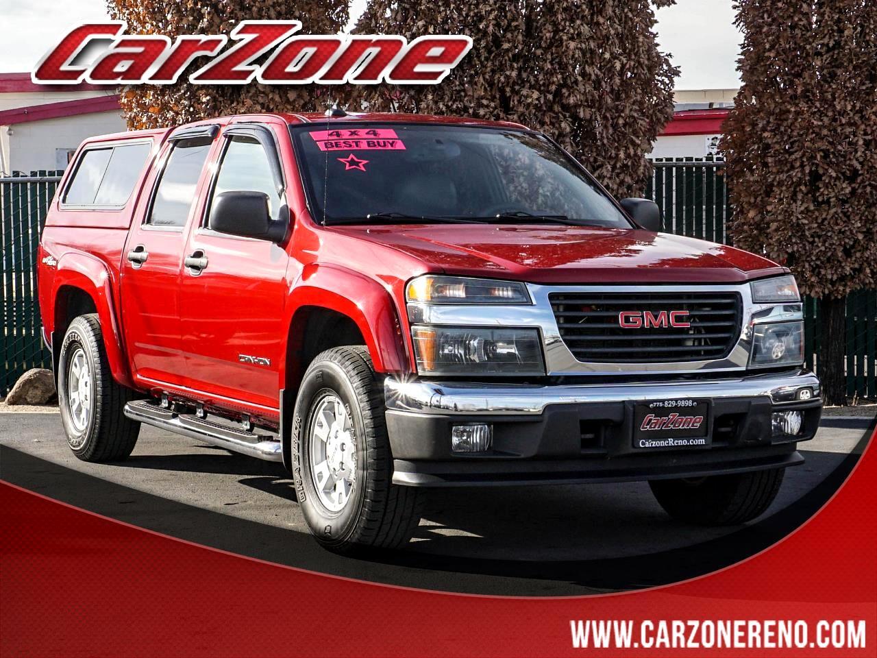 """GMC Canyon Crew Cab 126.0"""" WB 4WD 1SF SLE Z71 2005"""
