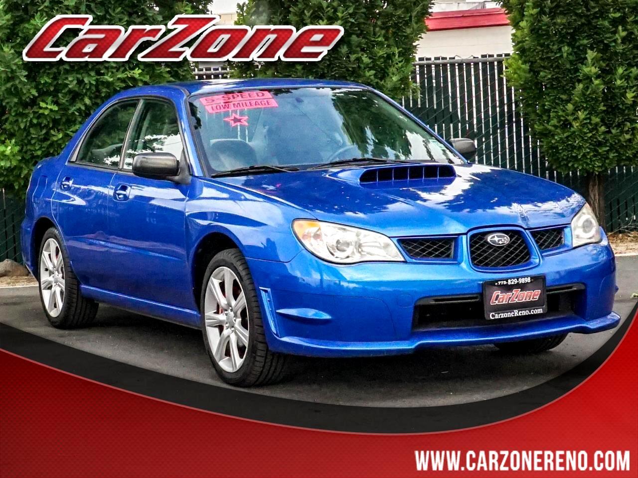 Subaru Impreza Sedan 4dr H4 Turbo MT WRX TR 2007