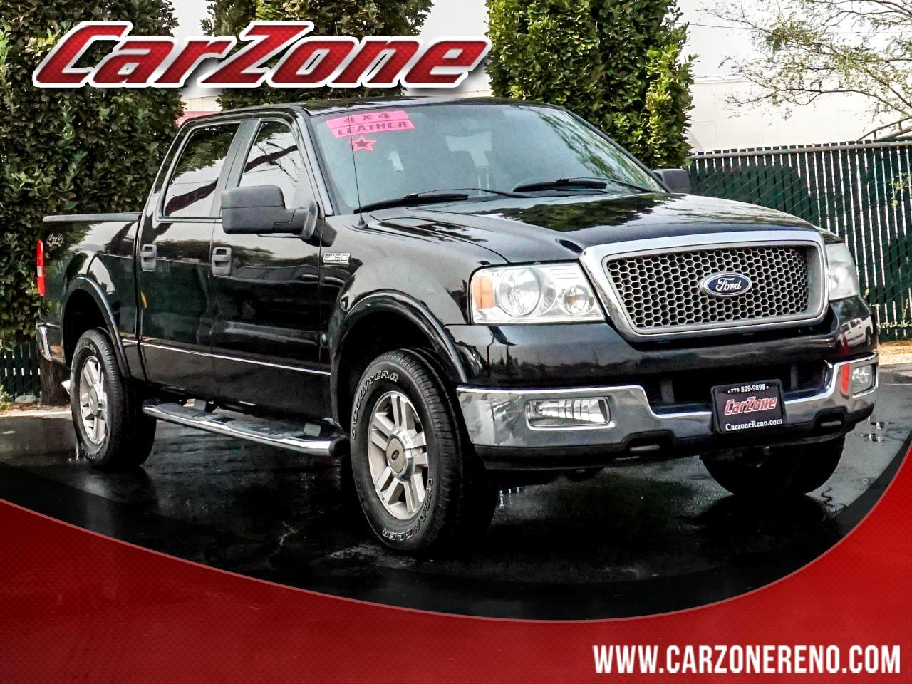 "Ford F-150 SuperCrew 139"" XLT 4WD 2005"