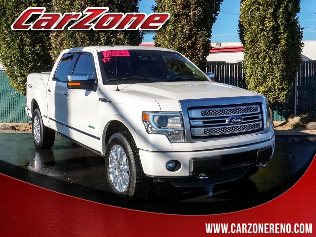 """Ford F-150 4WD SuperCrew 145"""" Platinum 2014"""