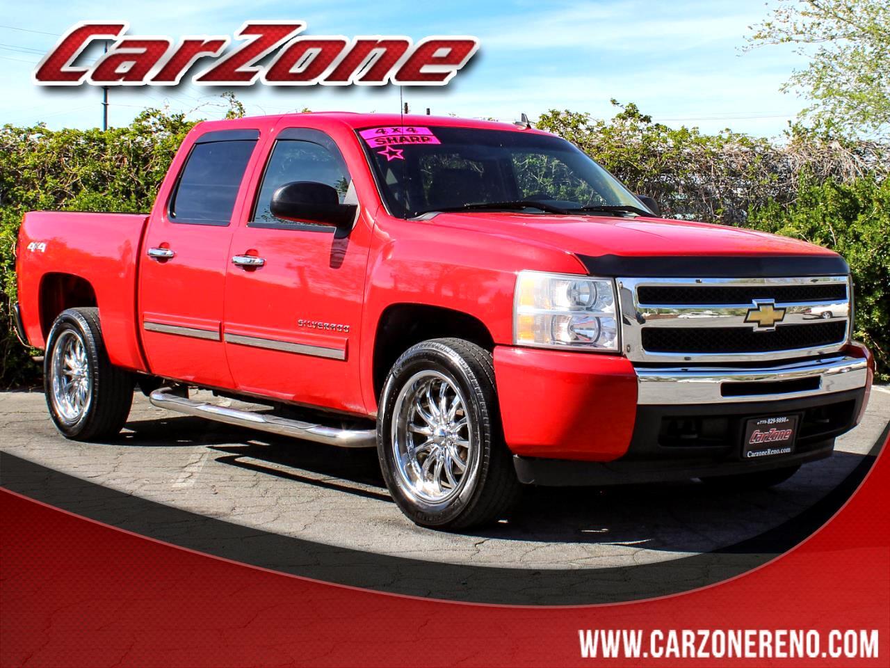 """Chevrolet Silverado 1500 4WD Crew Cab 143.5"""" LS 2011"""