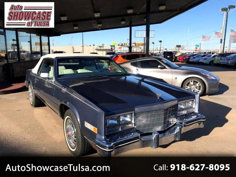1984 Cadillac Eldorado 2dr Convertible Biarritz