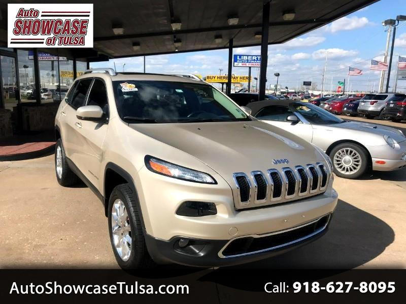 2015 Jeep Cherokee 4WD 4dr Limited