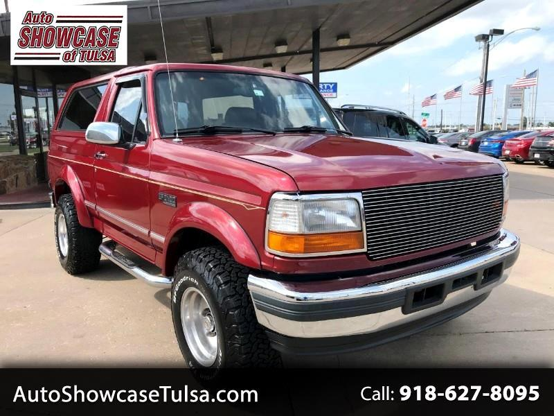 "1996 Ford Bronco 105"" WB XLT"