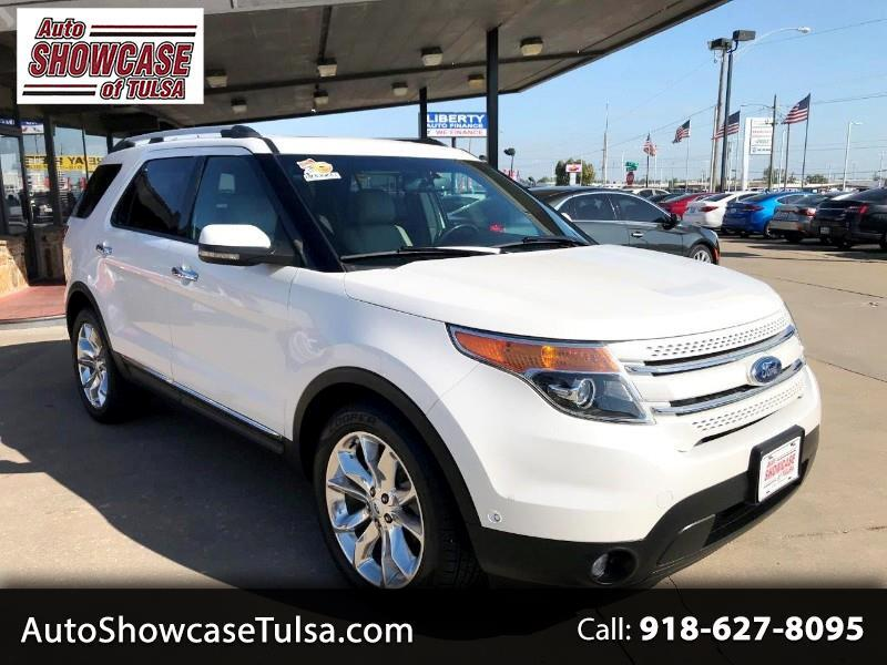 Ford Explorer FWD 4dr Limited 2012