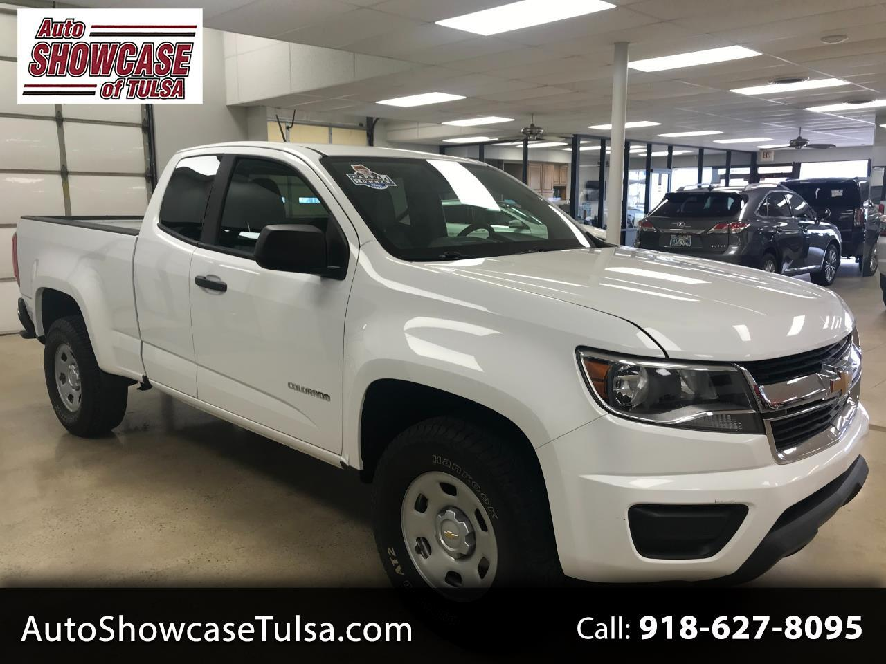 "Chevrolet Colorado 2WD Ext Cab 128.3"" Base 2018"