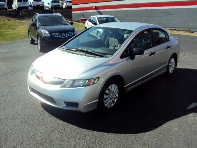 2011 Honda Civic DX-VP Sedan 5-Speed AT
