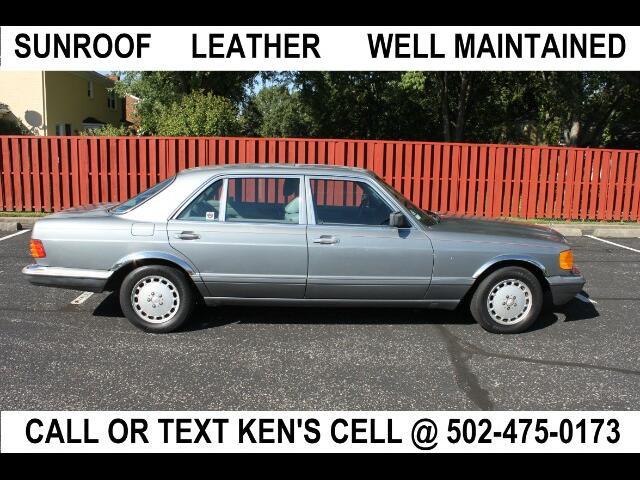 1990 Mercedes-Benz 420 SEL sedan
