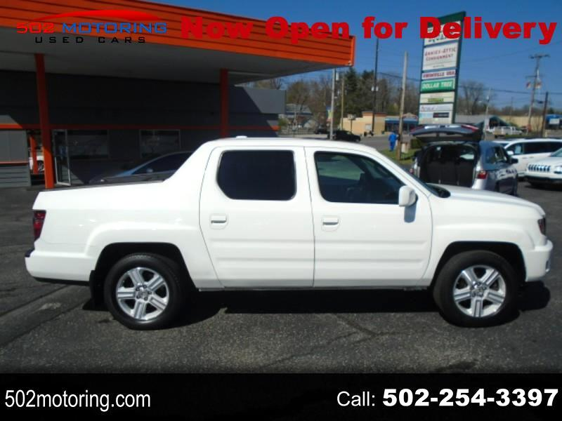 Honda Ridgeline RTL w/ Leather and Navigation 2013