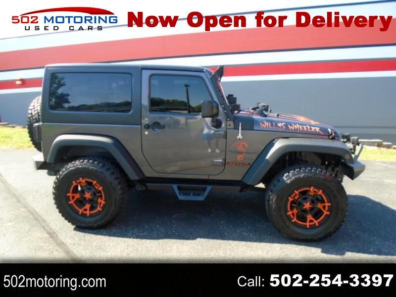 Jeep Wrangler Willys 4x4 2016