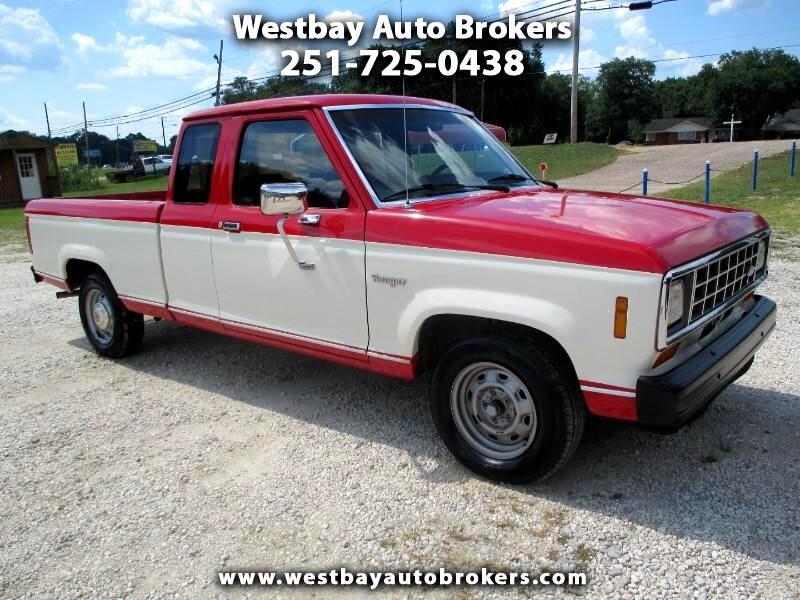 1986 Ford Ranger SuperCab 2WD