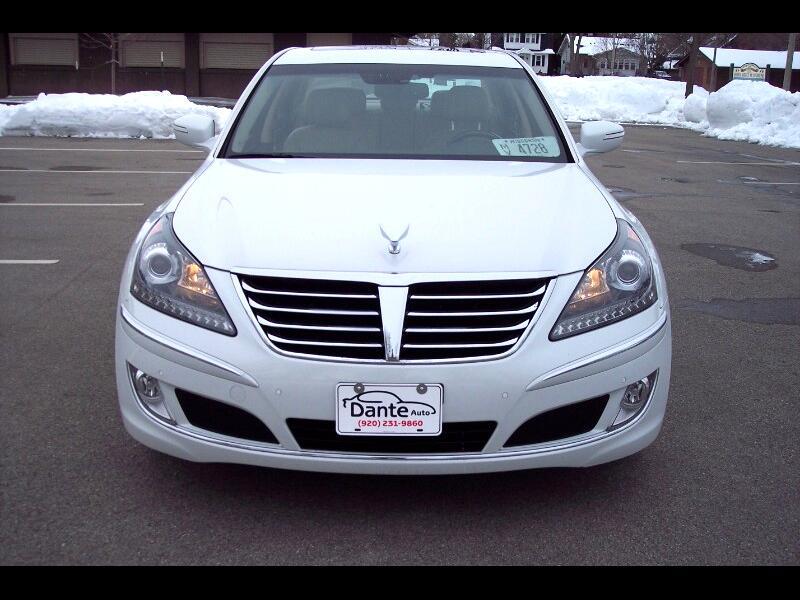 Hyundai Equus Signature 2012