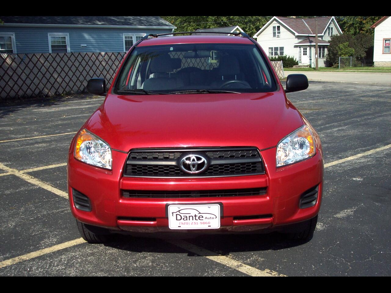 Toyota RAV4 4WD 4dr 4-cyl 4-Spd AT (Natl) 2009