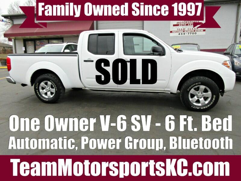 2012 Nissan Frontier SV Crew Cab V6 LWB