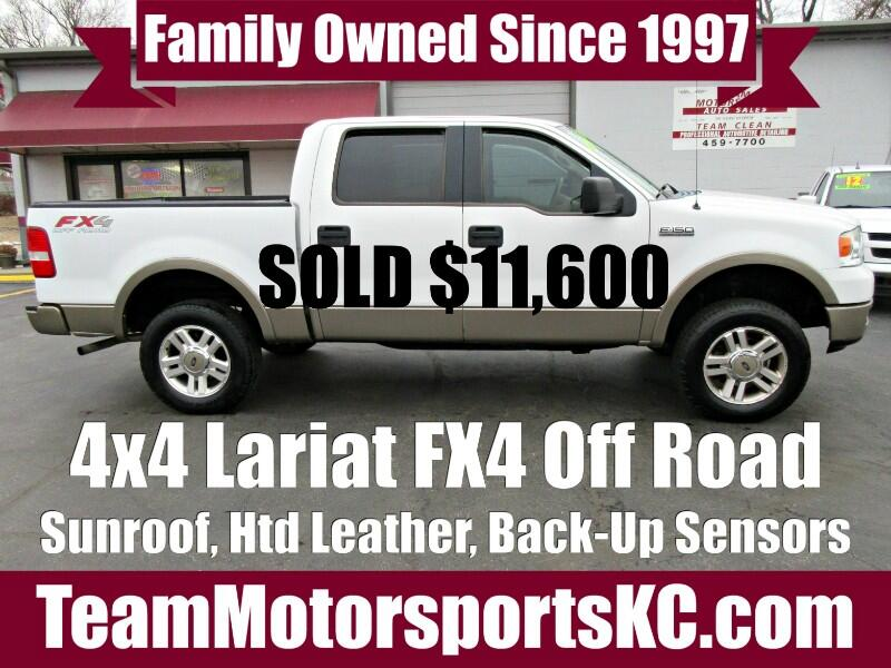 2005 Ford F-150 Lariat FX4 SuperCrew 4WD