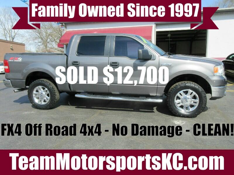 2008 Ford F-150 FX4 SuperCrew 4x4