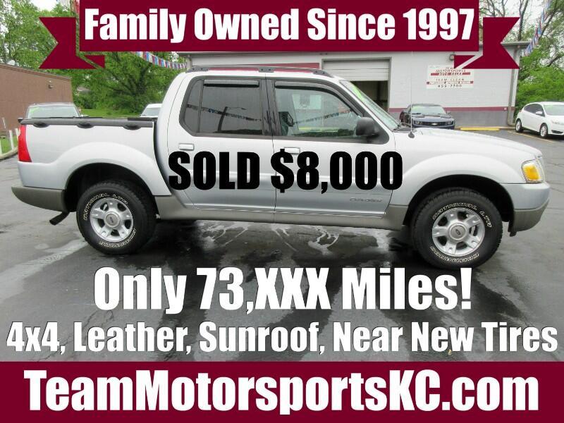 2002 Ford Explorer Sport Trac 4x4