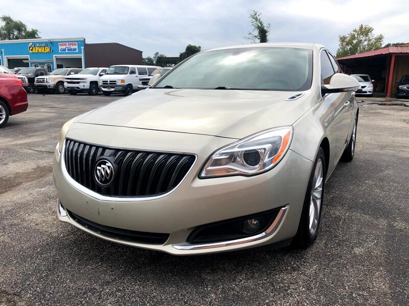 Buick Regal 4dr Sdn Gold 2014