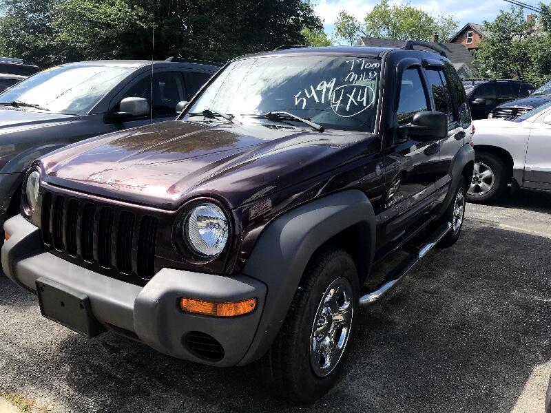 2004 Jeep Liberty 4dr Sport 4WD