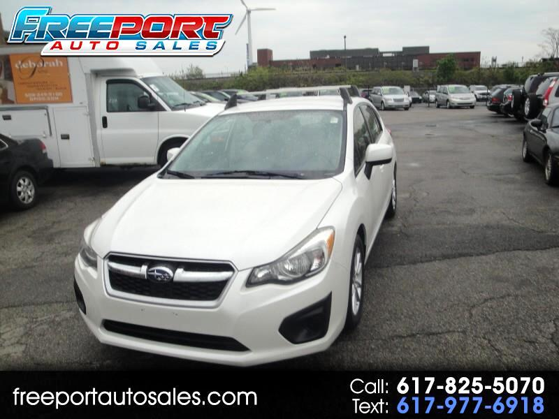 2013 Subaru Impreza 2.0i Premium 5-Door w/All Weather Package