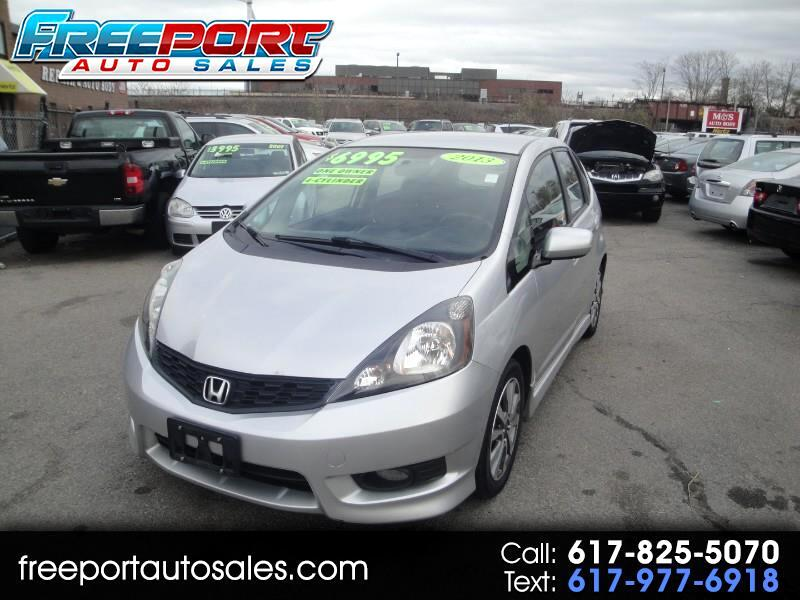 2013 Honda Fit Sport 5-Speed AT