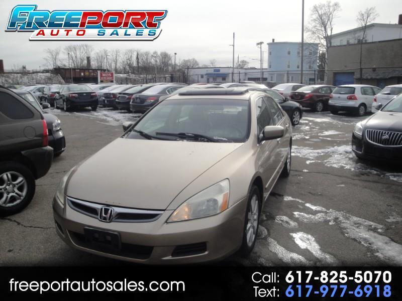 Honda Accord EX V-6 Sedan AT w/ XM Radio 2006