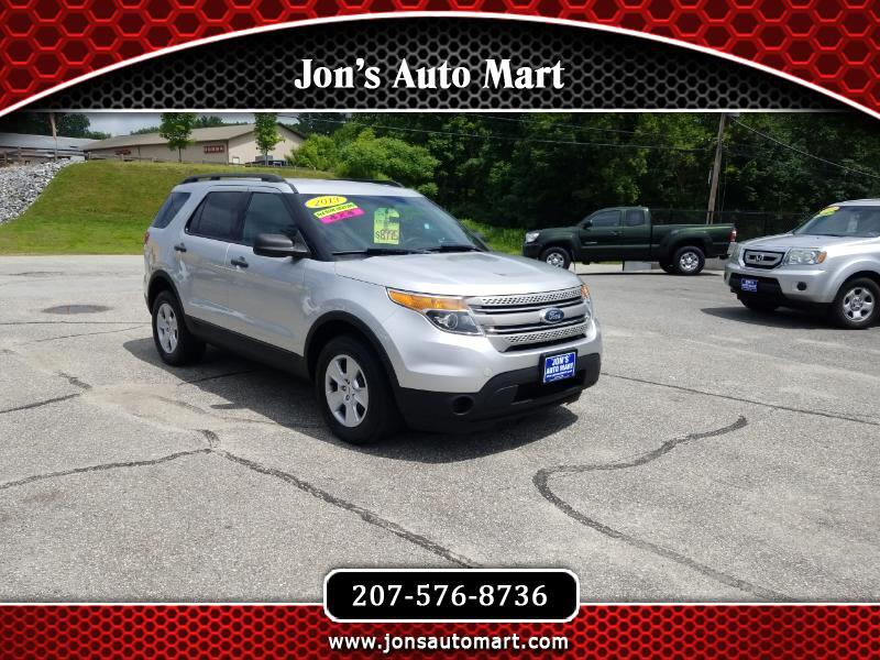 2013 Ford Explorer 4x4 3RD Row