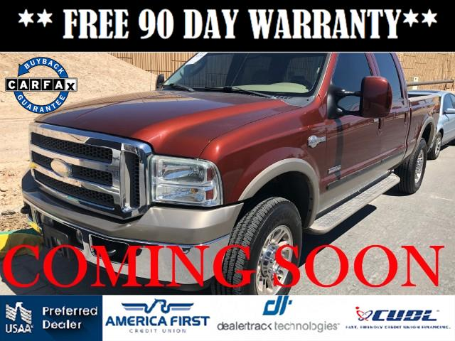 2005 Ford F-250 SD KING RANCH CREW CAB LONG BED 4WD