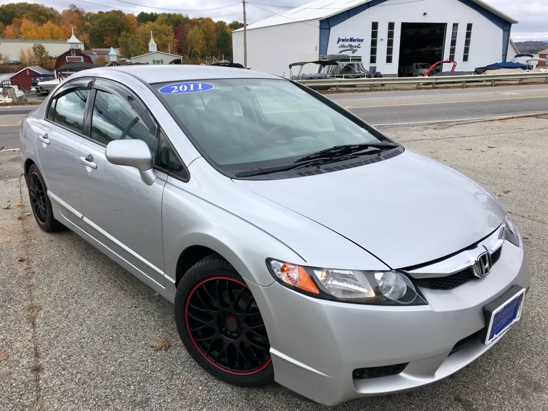 2011 Honda Civic LX Sedan 5-Speed MT