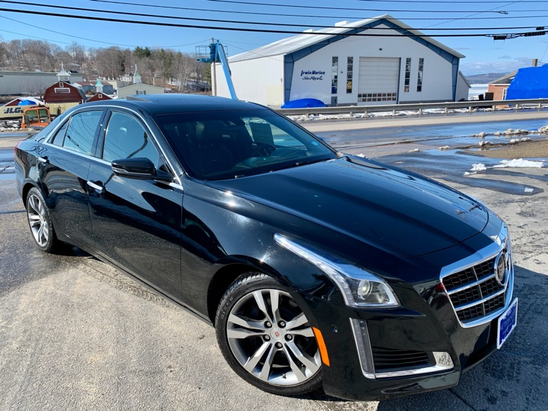 Cadillac CTS 3.6L Twin Turbo Vsport Premium RWD 2014