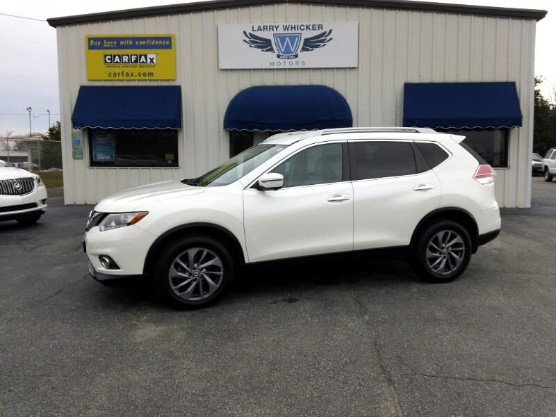 Nissan Rogue AWD 4dr SL 2016