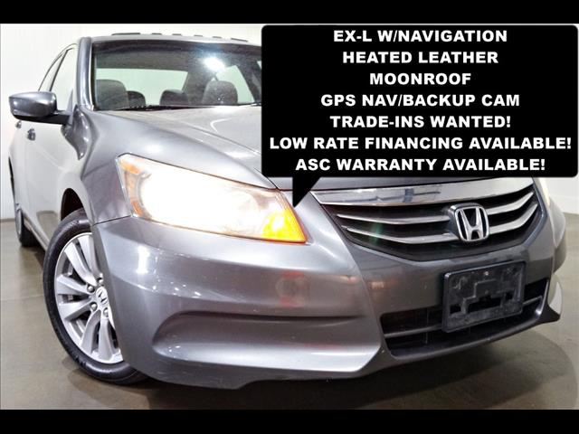 2011 Honda Accord EX-L Sedan AT with Navigation System and XM Radio