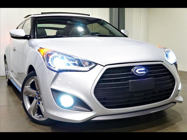 2014 Hyundai Veloster 3dr Cpe Man Turbo w/Blue Int