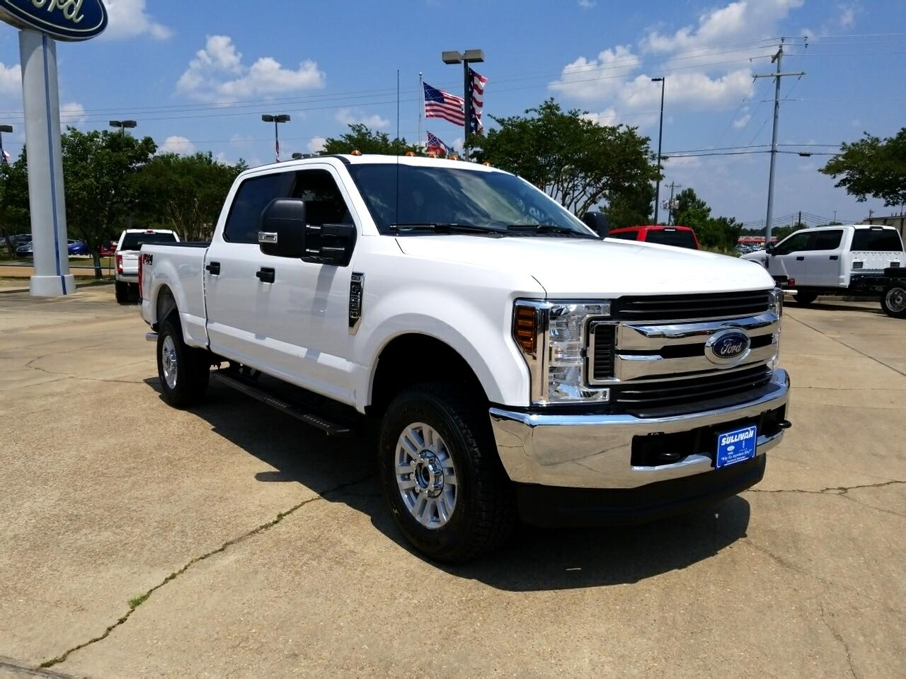 2018 Ford F-250 Crew Cab 4dr 152.2