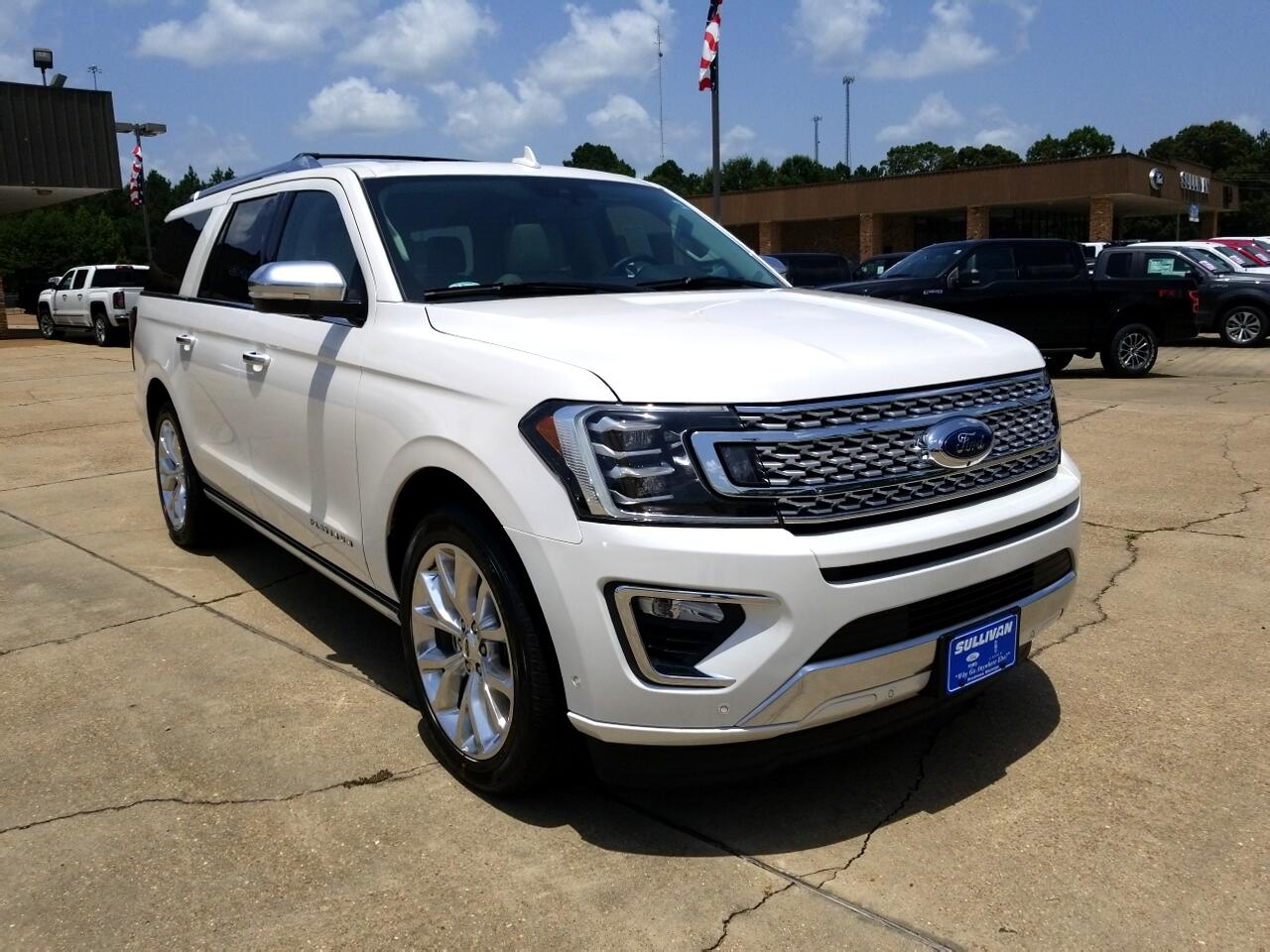 2018 Ford Expedition Max Platinum 4x2