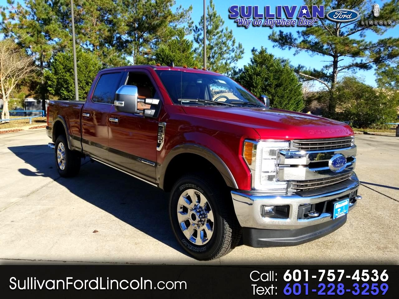 2019 Ford Super Duty F-250 SRW King Ranch 4WD Crew Cab 8' Box