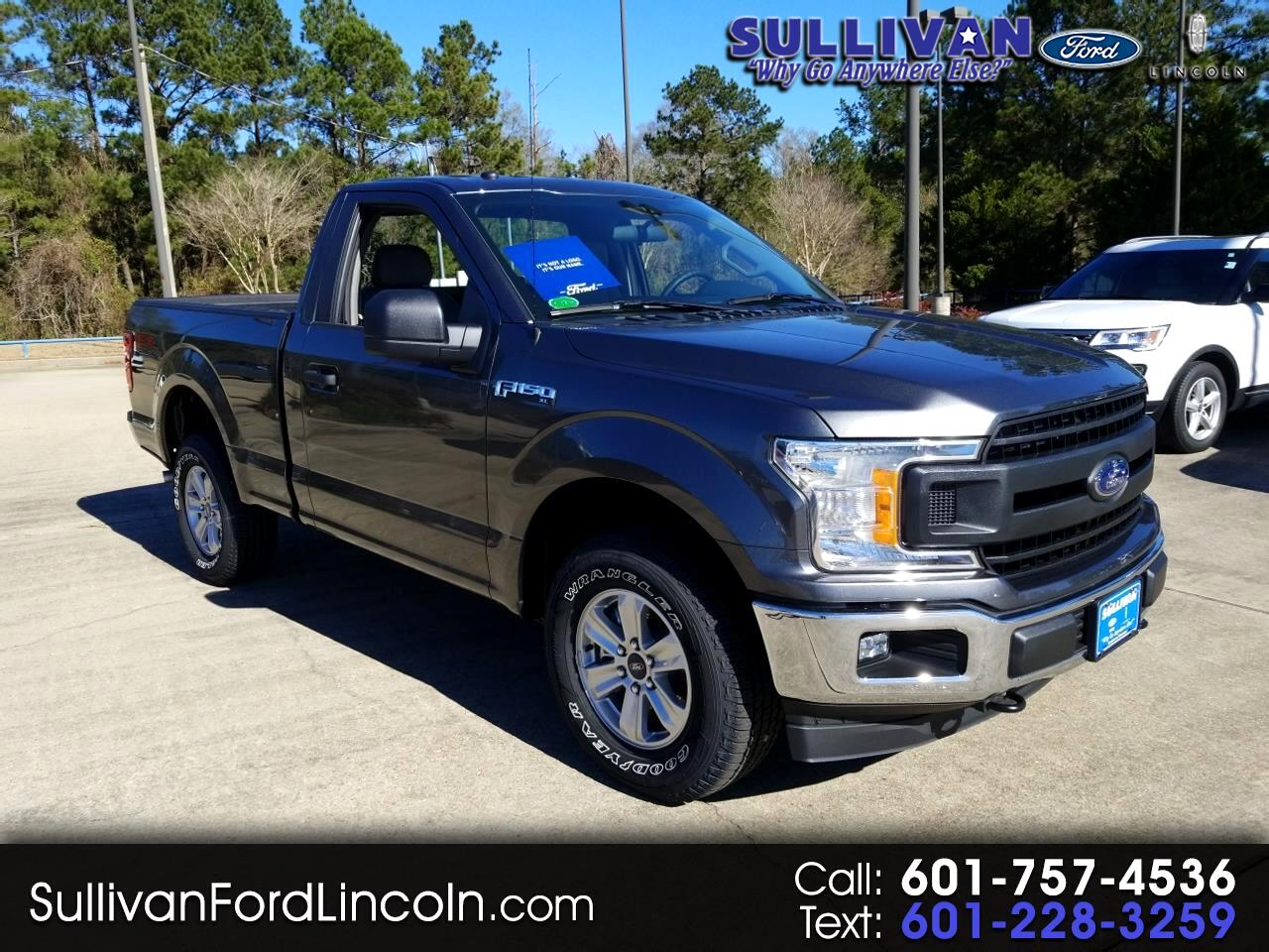 2019 Ford F-150 XL Reg. Cab Short Bed 4WD