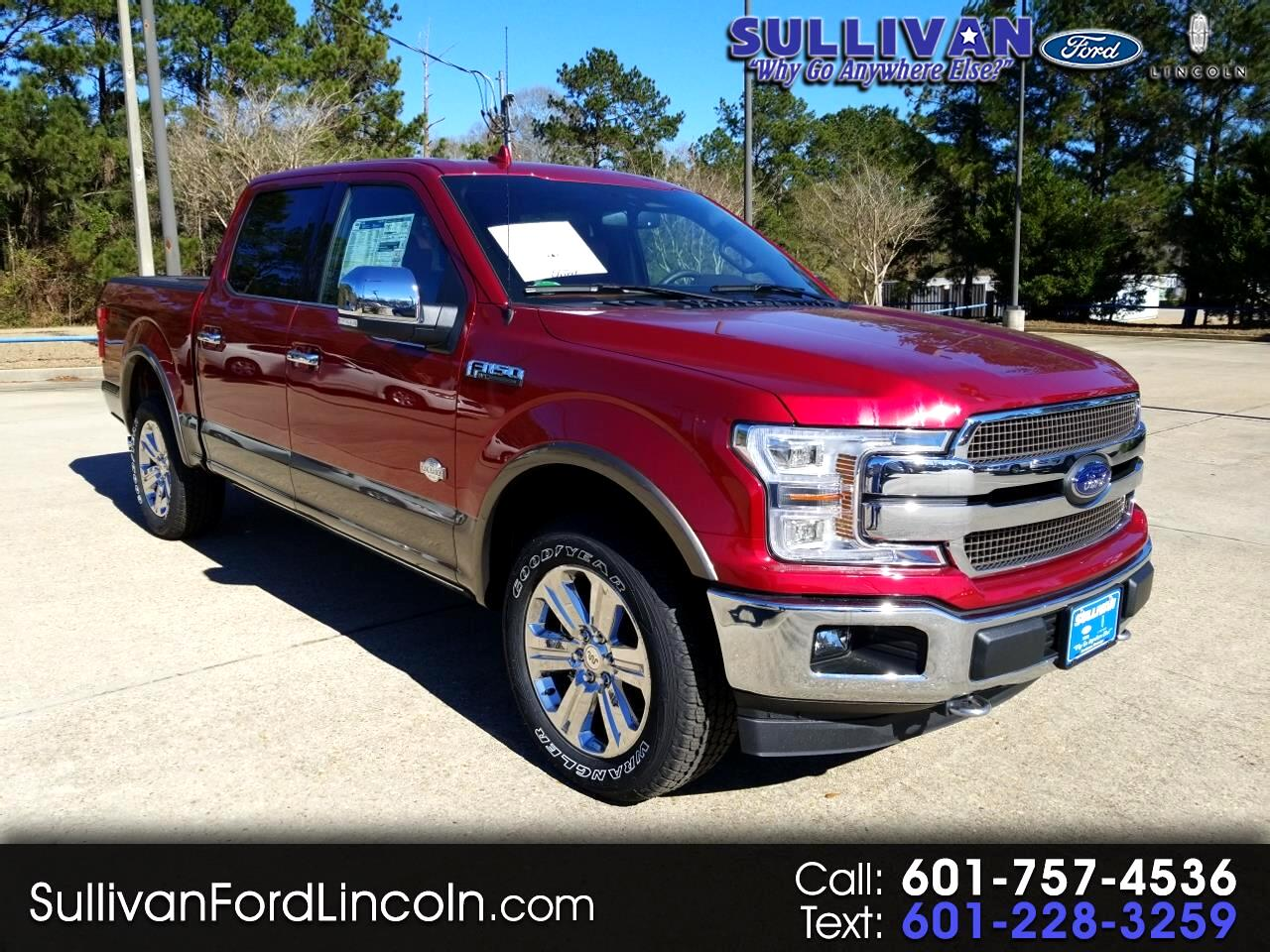 2018 Ford F-150 King Ranch 4WD SuperCrew 5.5' Box