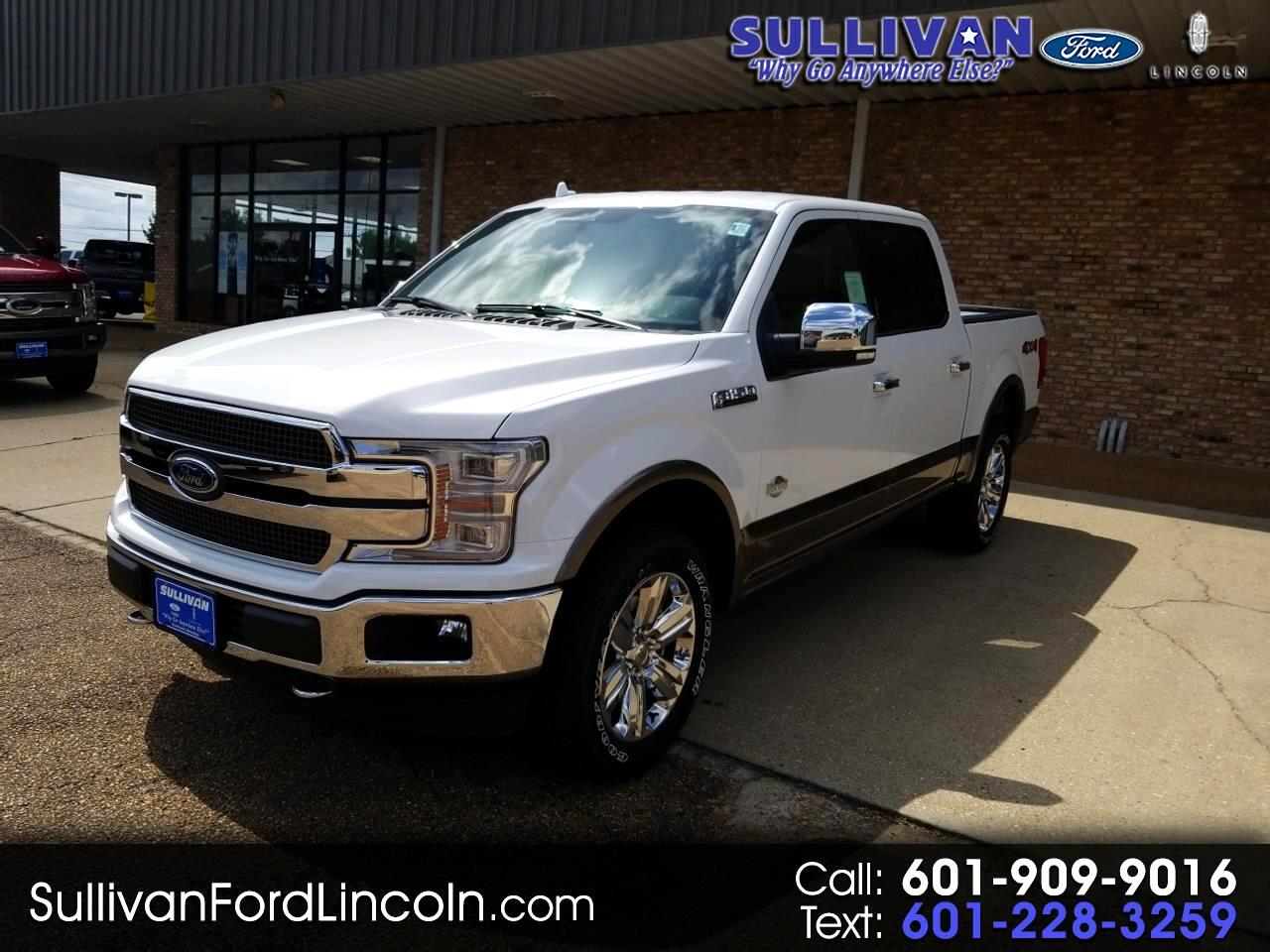 2019 Ford F-150 King Ranch 4WD SuperCrew 5.5' Box