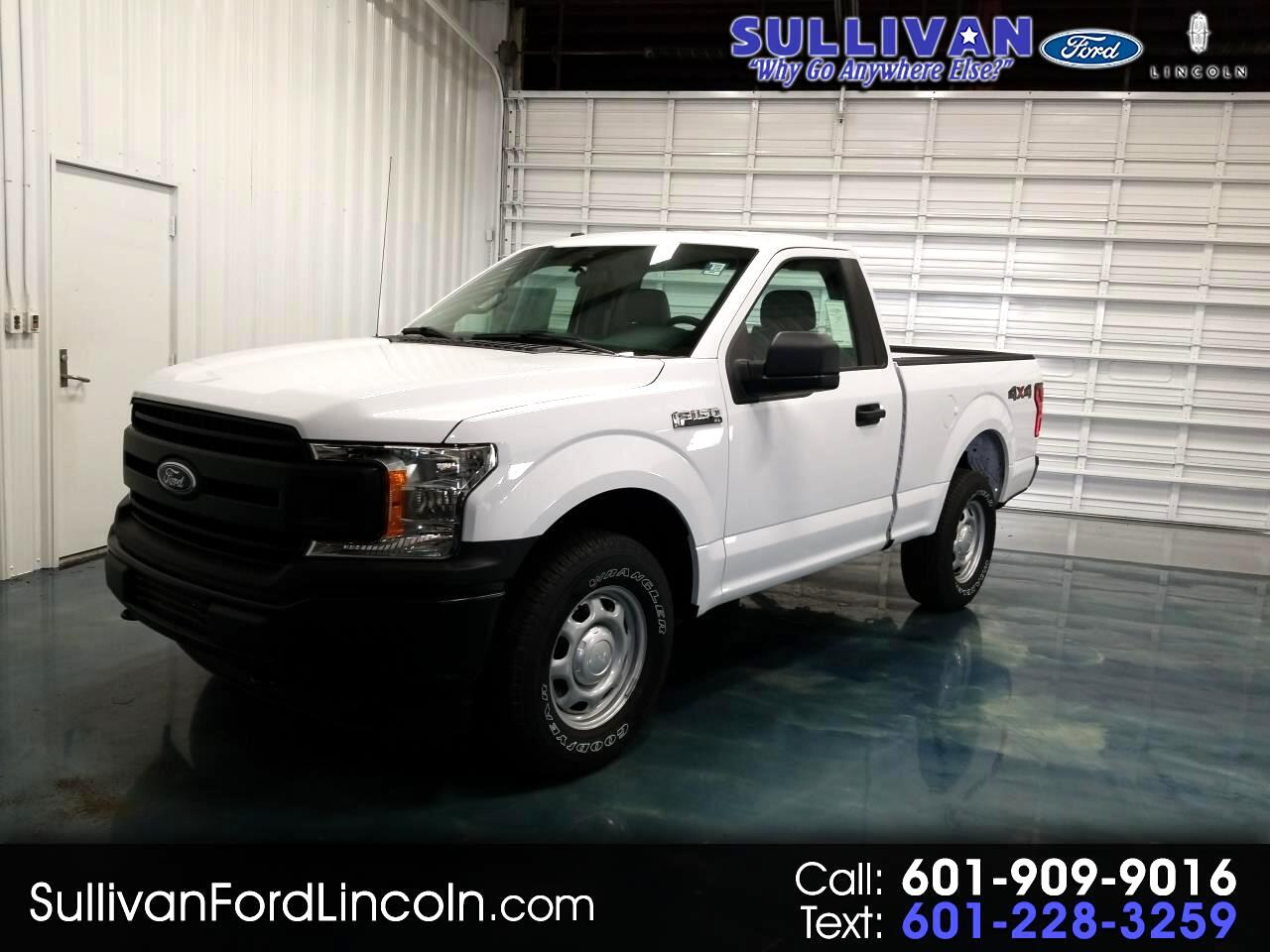 2019 Ford F-150 XL Short Bed 4WD